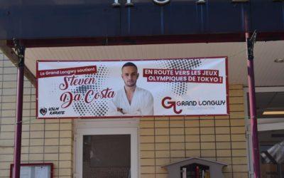 J.O. De Tokyo/Karaté : soutien à Steven Da Costa