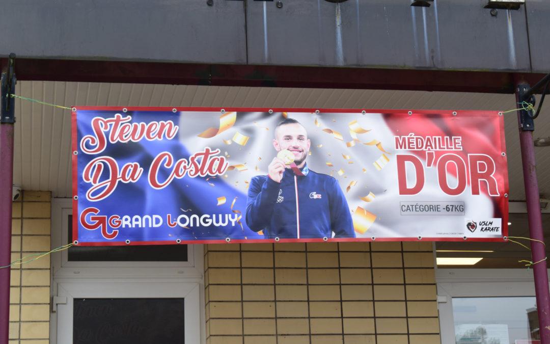 Félicitations à Steven Da Costa